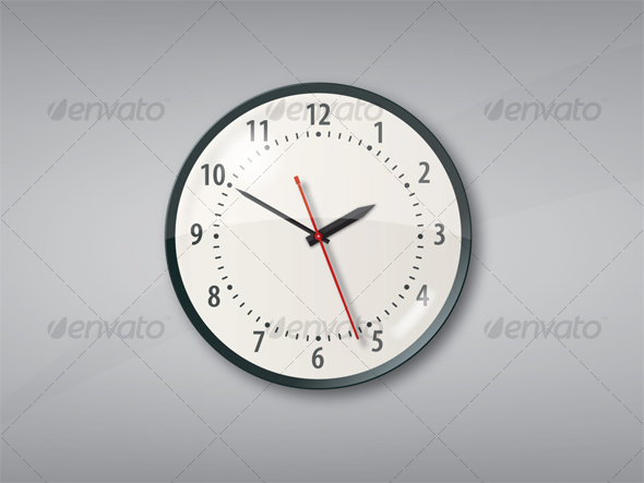 Wall Clock - Man-made Objects Objects