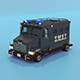 S.W.A.T. Truck with Interior - 3DOcean Item for Sale