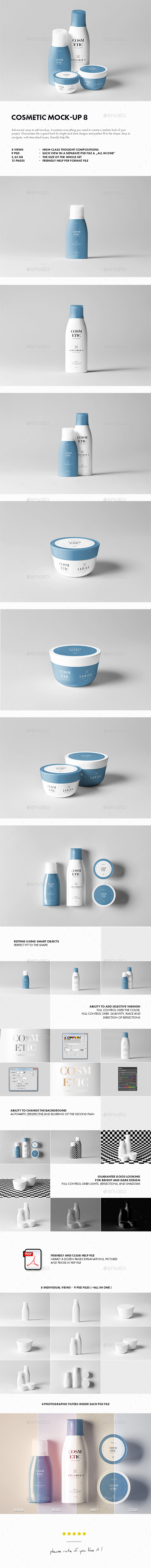 Cosmetic Mock-up 8 - Beauty Packaging