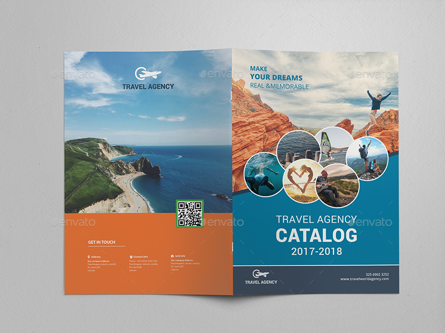 travel agency brochure examples