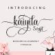 Kaiyila Script - GraphicRiver Item for Sale
