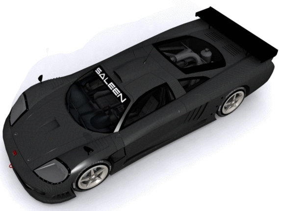 Saleen S7-R - 3DOcean Item for Sale
