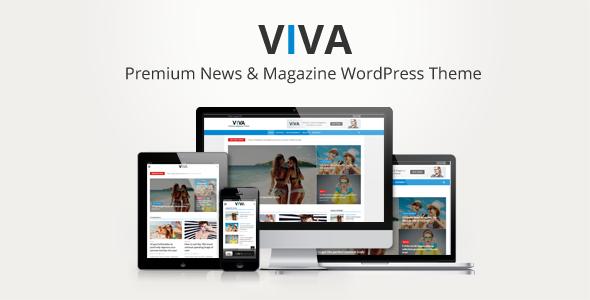 Viva - News & Magazine WordPress Theme