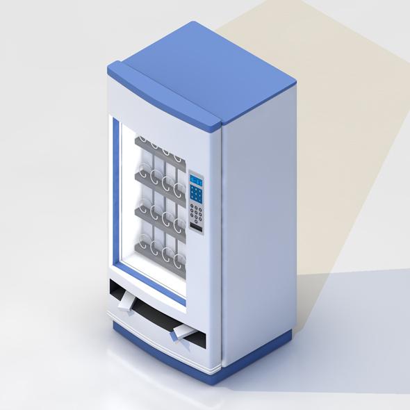 BLISTER DISPENSER VENDING MACHINE - 3DOcean Item for Sale
