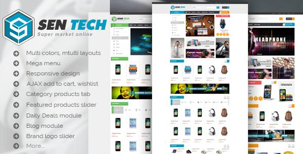 Image of VG Sentech - Responsive Digital Woocommerce Theme