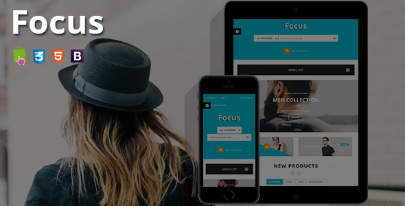Focus – Responsive Prestashop Theme