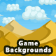 5 Fantasy Pixel Game Backgrounds - Parallax and Stackable - GraphicRiver Item for Sale