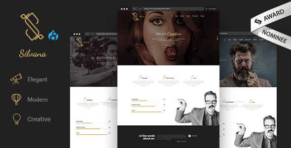 Image of Silvana - Creative Agency Drupal 8 Theme