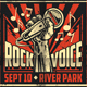 Rock Voice Concert - GraphicRiver Item for Sale