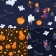 Set Of Seamless Patterns For Halloween Party - GraphicRiver Item for Sale