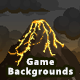 4 Mountain Pixel Game Backgrounds - Parallax and Stackable - GraphicRiver Item for Sale