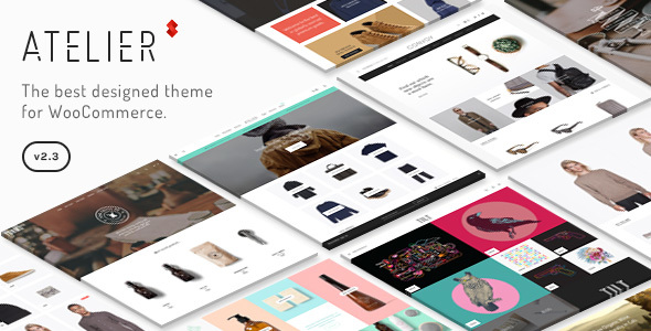 Atelier - Creative Multi-Purpose eCommerce Theme - WooCommerce eCommerce