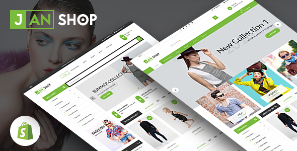 SP JanShop – Clean and responsive Shopify Theme