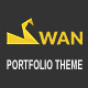 SWAN Company Portfolio Multi-purpose PSD Template Nulled