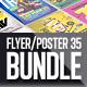 Flyer Poster Mockups Bundle