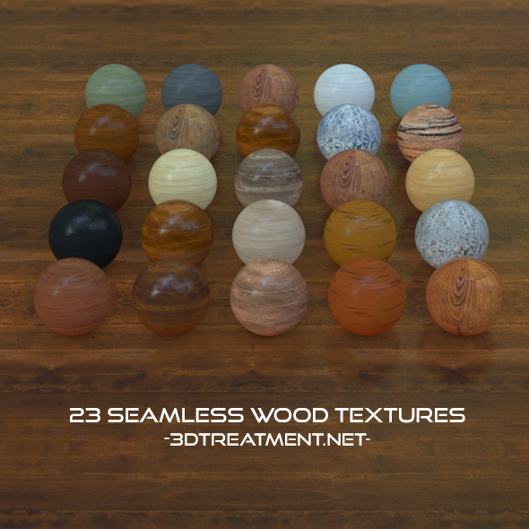23 Seamless Wood Textures For Cinema4d - 3DOcean Item for Sale