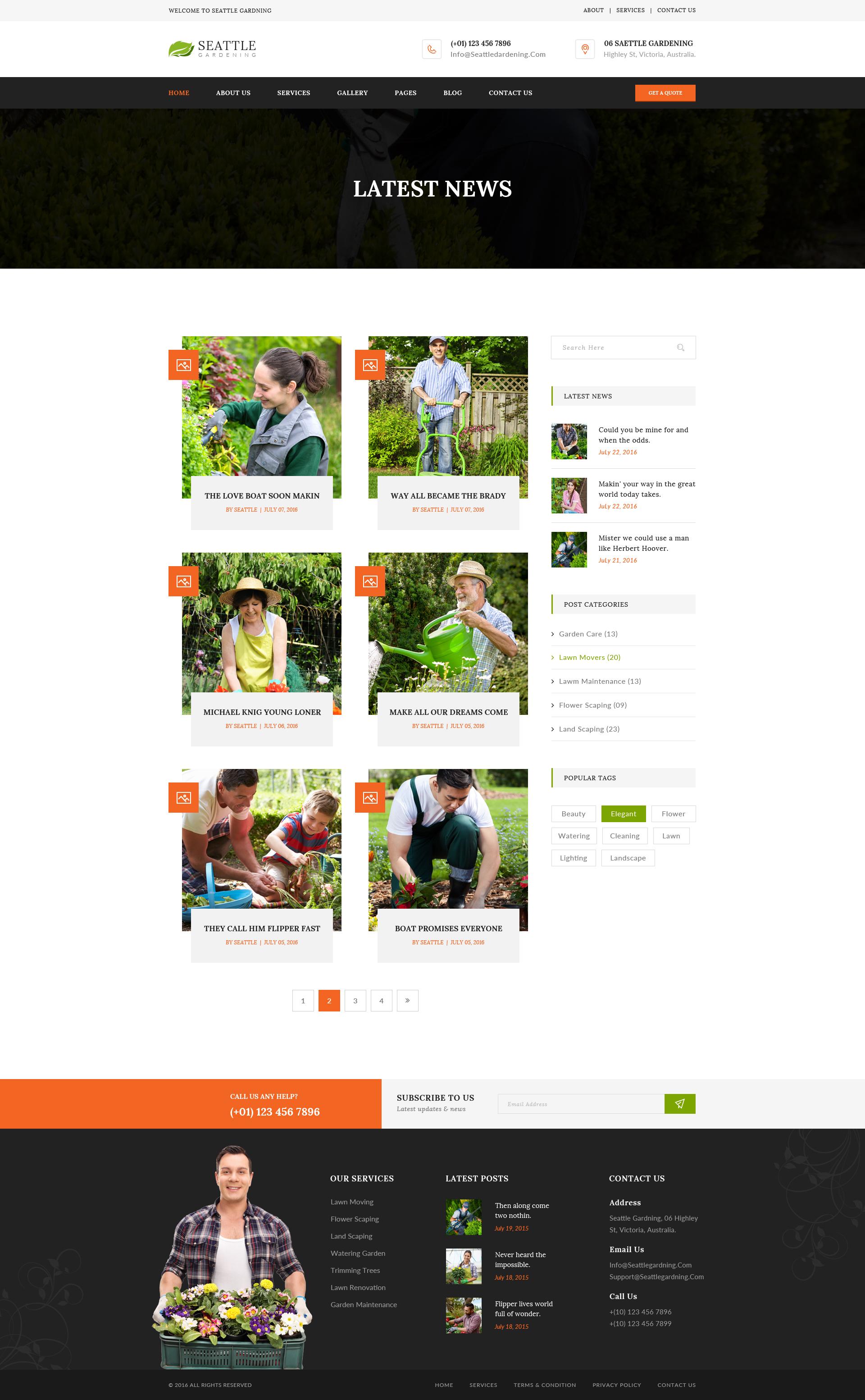 ... Seattle Gardening Preview/09 Blog 02 ...