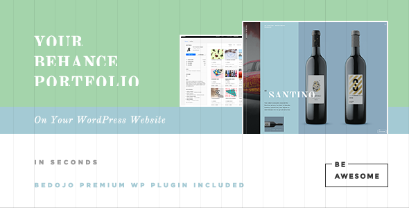 BeAwesome - Creative Behance Portfolio WP Theme - Portfolio Creative