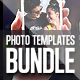 Photo Templates Bundle - GraphicRiver Item for Sale