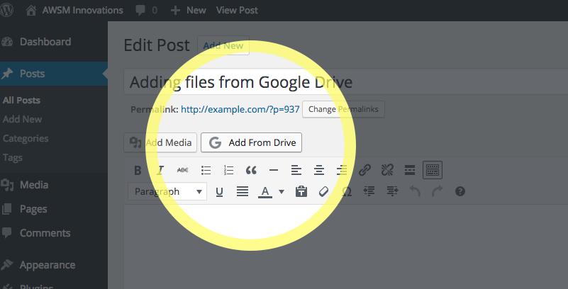 Drivr - Google Drive Plugin for WordPress