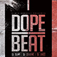 Dope Beat | Urban Underground Minimal Flyer PSD Template - GraphicRiver Item for Sale
