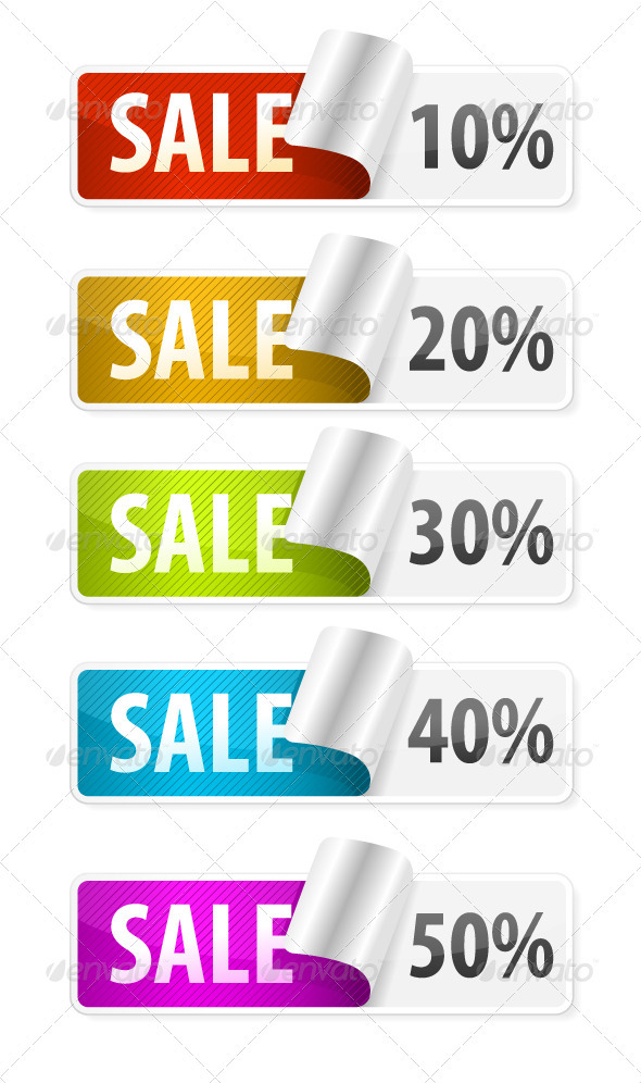 Sale Stickers  - Commercial / Shopping Conceptual