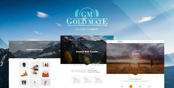 GoldMate - Creative Multipurpose HTML Template