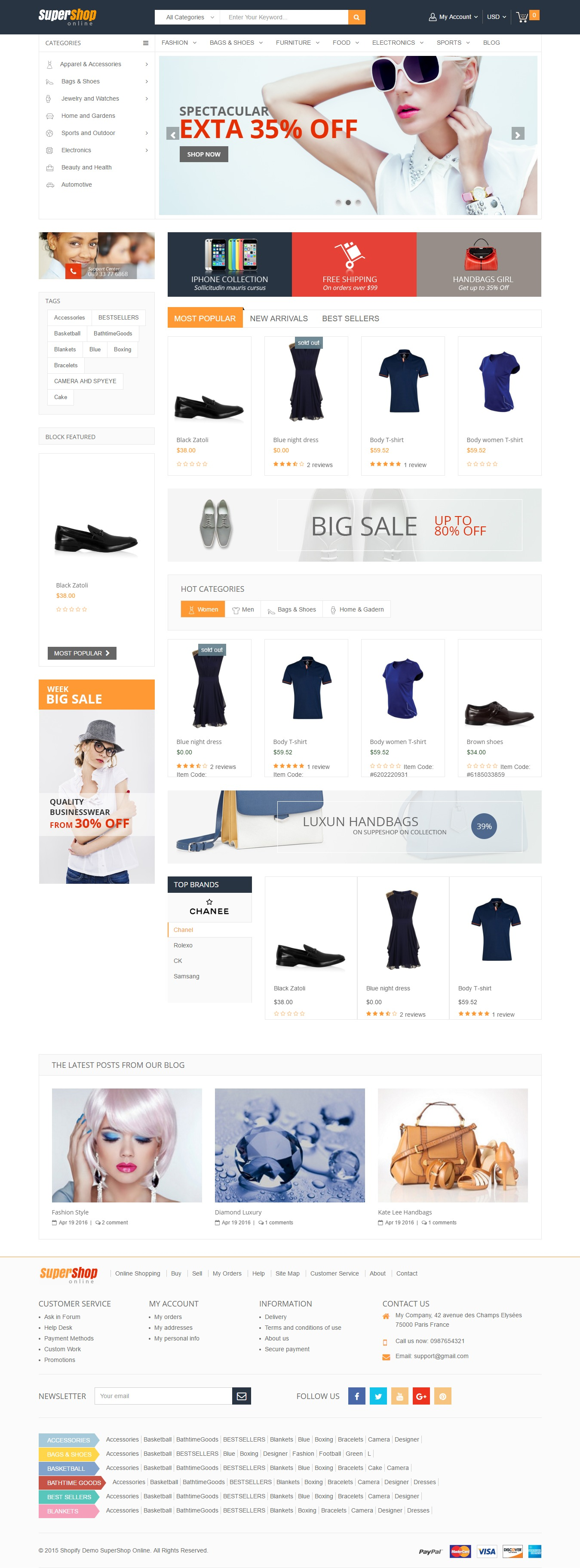 how to add a hardcoded carousel to shopify