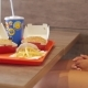 Female Hands Taking Fast Food - VideoHive Item for Sale