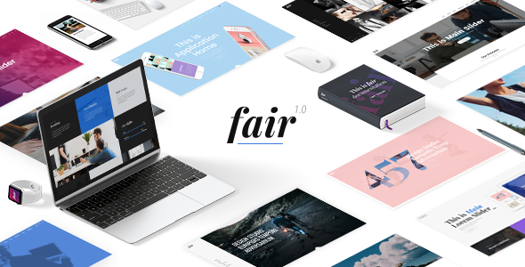 Fair - A Fresh Multipurpose Theme for Creative Businesses & Individuals - Creative WordPress