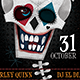 Suicide Squad Illustrated Halloween Flyer - GraphicRiver Item for Sale