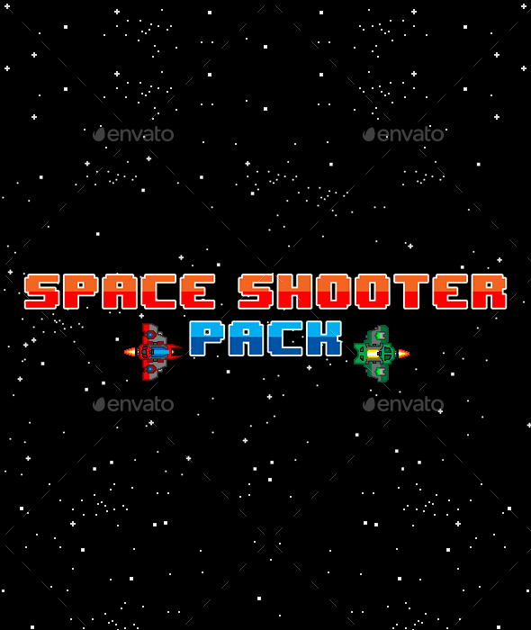Pixel Space Shooter - Game Kits Game Assets