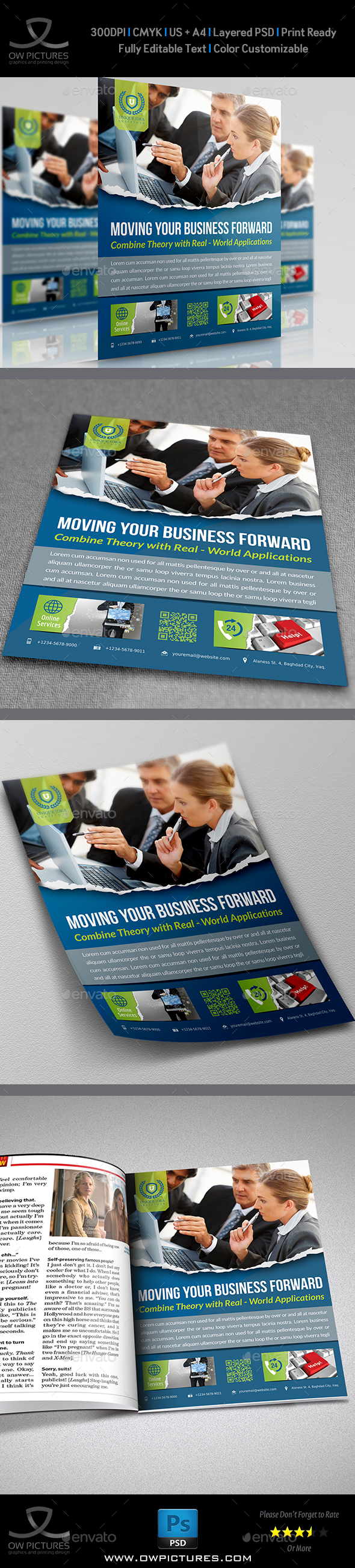 Corporate Business Flyer Vol.9 - Corporate Flyers