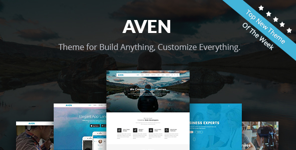 Aven – Feature Packed Multiuse WordPress Theme