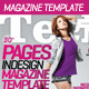 Sleek inDesign Tech Magazine Template - GraphicRiver Item for Sale