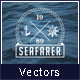 Sea Marine Badges Logos - GraphicRiver Item for Sale