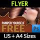 Hair Stylist & Salon Flyer - GraphicRiver Item for Sale
