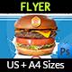 Burger Restaurant Flyer Vol.3 - GraphicRiver Item for Sale