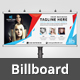 Beauty Salon Billboard V10 - GraphicRiver Item for Sale