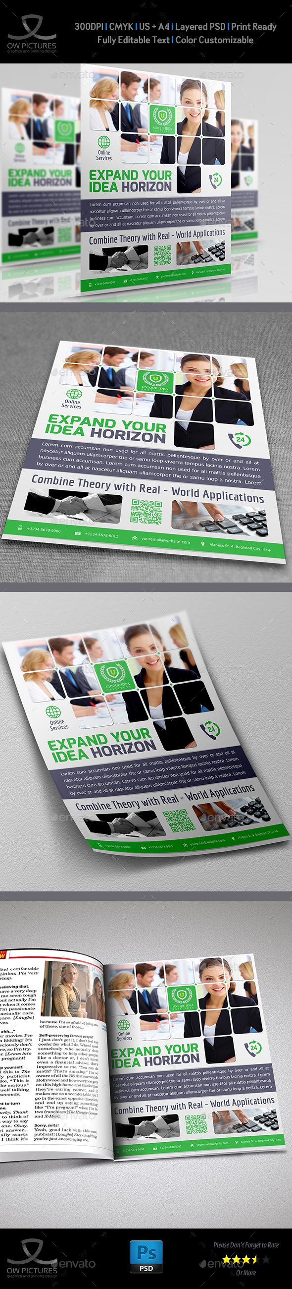 Corporate Business Flyer Vol.8 - Corporate Flyers