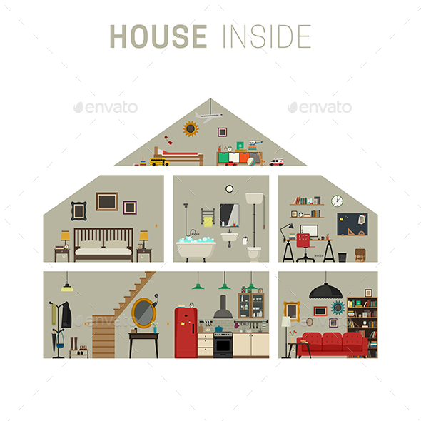 House Inside - Buildings Objects