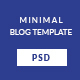 ROJA - Minimal Wordpress Blog Template - ThemeForest Item for Sale