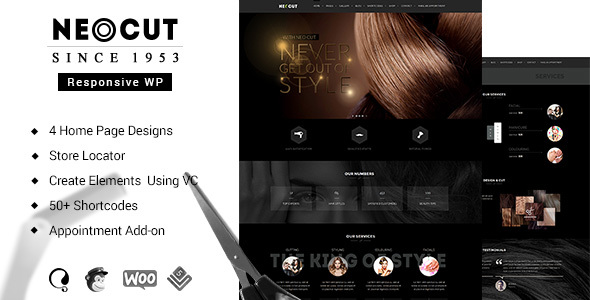 Neo Cut | Beauty Salon WordPress Theme