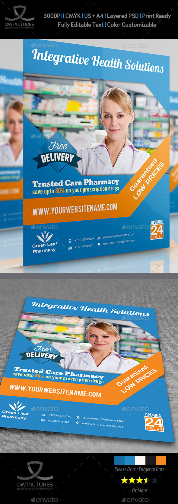 Pharmacy Flyer Vol.2 - Flyers Print Templates