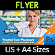 Pharmacy Flyer Vol.2 - GraphicRiver Item for Sale