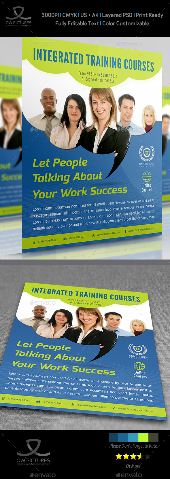 Corporate Training Flyer Vol.7 - Corporate Flyers