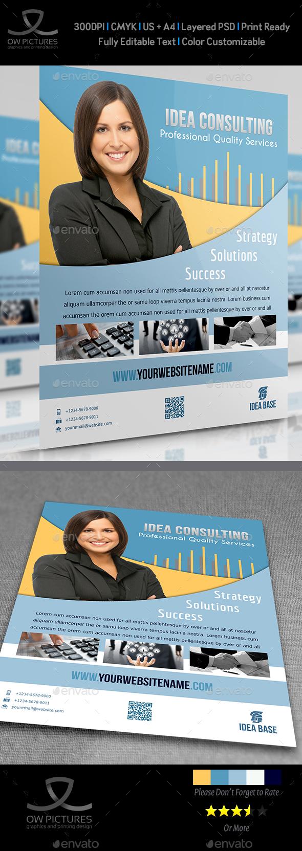 Corporate Flyer Vol.6 - Flyers Print Templates