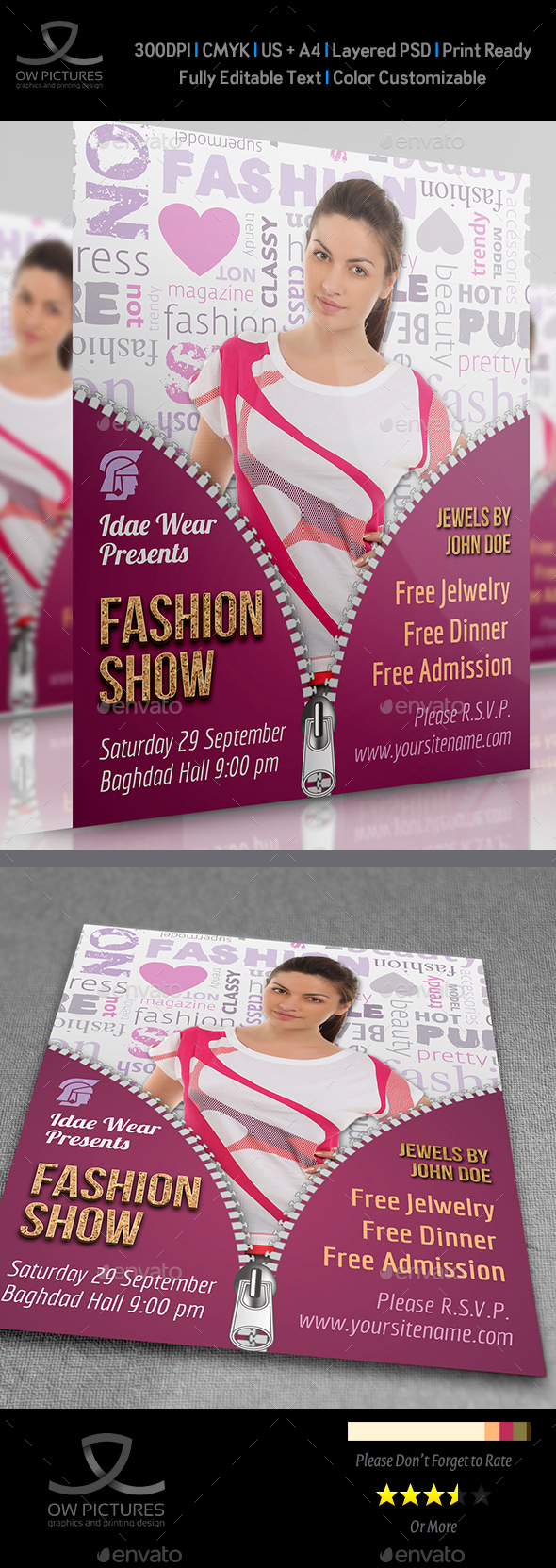 Fashion Flyer - Clubs & Parties Events