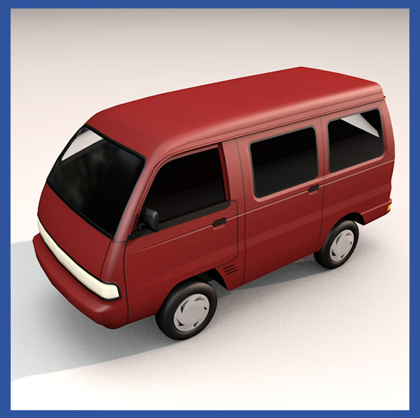 Suzuki Carry 96 - 3DOcean Item for Sale