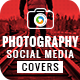 Photography Social Media Pack - GraphicRiver Item for Sale